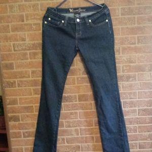 Wet Seal Jeans sz 9 long juniors